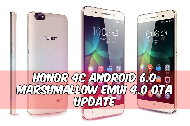 Honor 4c Marshmallow EMUI 4.0 - Install B370 Honor 4c Android 6.0 Marshmallow OTA Update