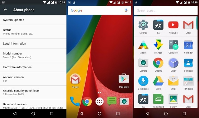 Moto G Marshmallow update 1 - How To Update MOTO G Android 6.0 Marshmallow OTA