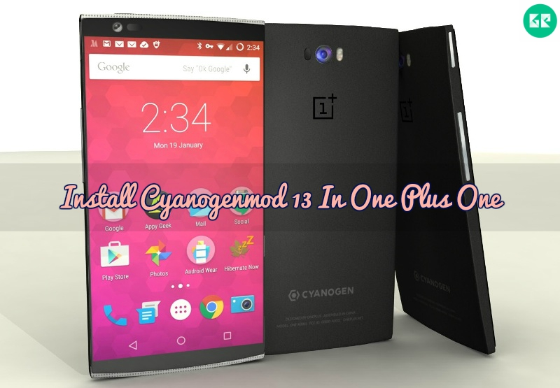 CyanogenMod 13 ROM In OnePlus One