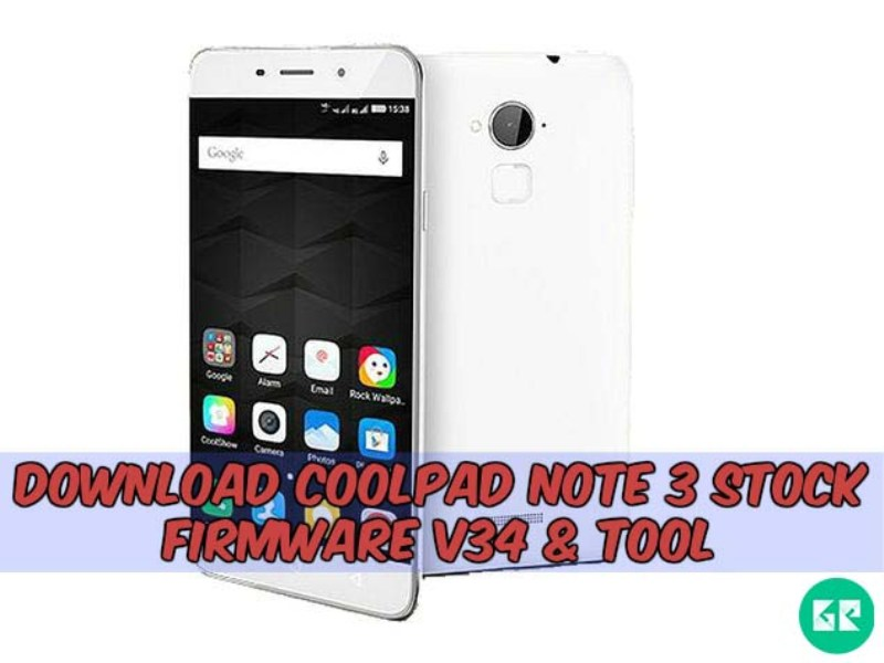 Coolpad Note 3 Firmware v34 Tool gizrom - [FIRMWARE] Coolpad Note 3 Stock Firmware v34 & Tool