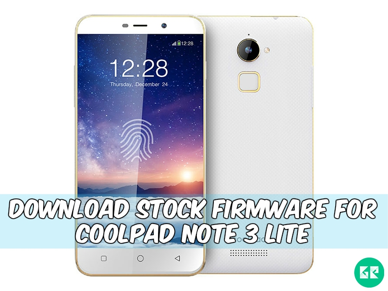 Coolpad Note 3 Lite Firmware gizrom - [FIRMWARE] Stock Firmware For Coolpad Note 3 Lite