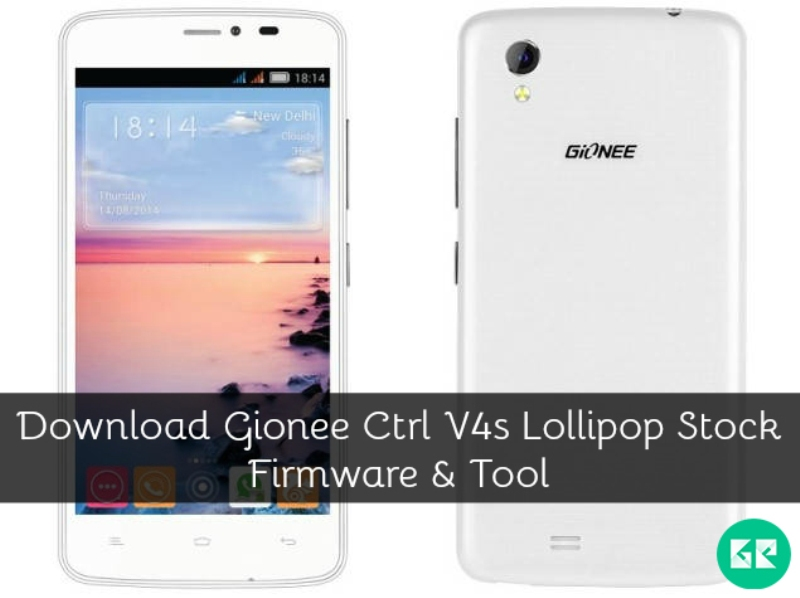 Gionee Ctrl V4s Lollipop Firmware Tool gizrom - Download Gionee Ctrl V4s Lollipop Stock Firmware And Tool
