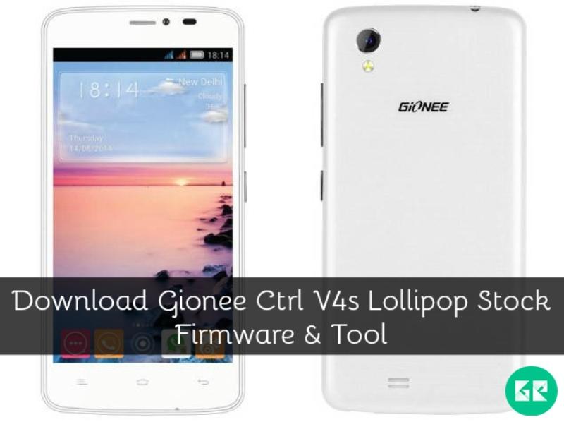 Gionee Ctrl V4s Lollipop-Firmware-Tool-gizrom