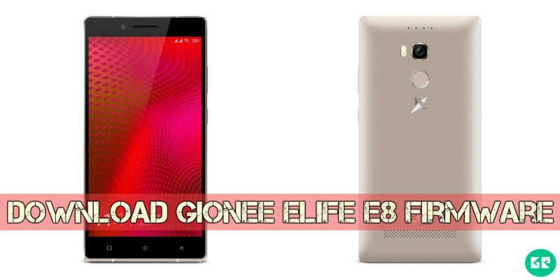 Gionee Elife E8 Firmware