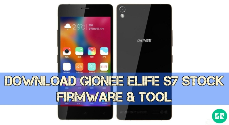 Gionee Elife S7 Stock Firmware