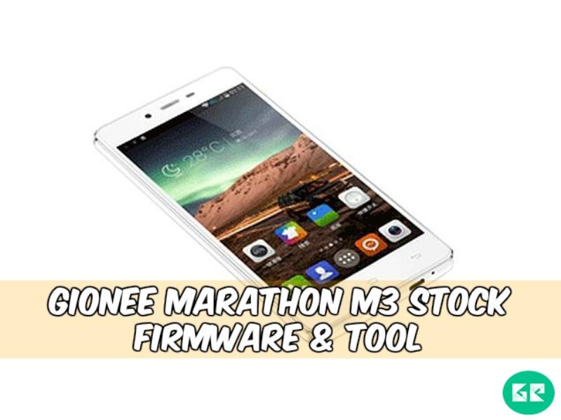 Gionee Marathon M3 Stock Firmware