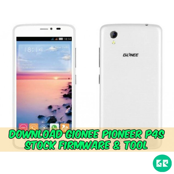 gionee pioneer p4s stock firmware
