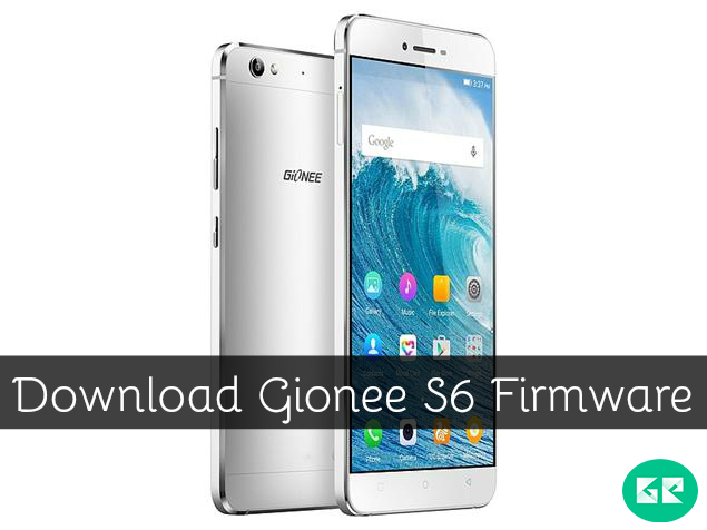 Gionee S6 Firmware