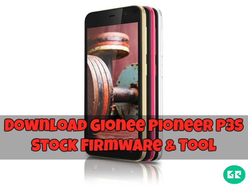 Gionee Pioneer P3S Stock Firmware