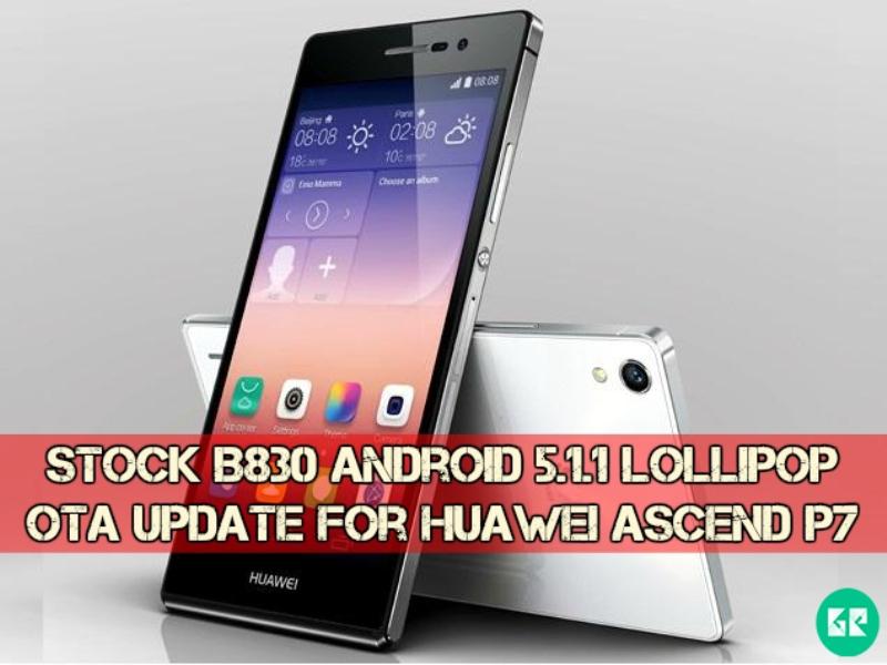 Huawei Ascend P7-B830-Lollipop-gizrom