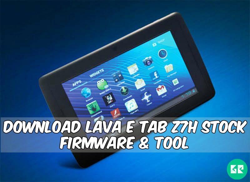 LAVA E Tab Z7H-Firmware-Tool-gizrom