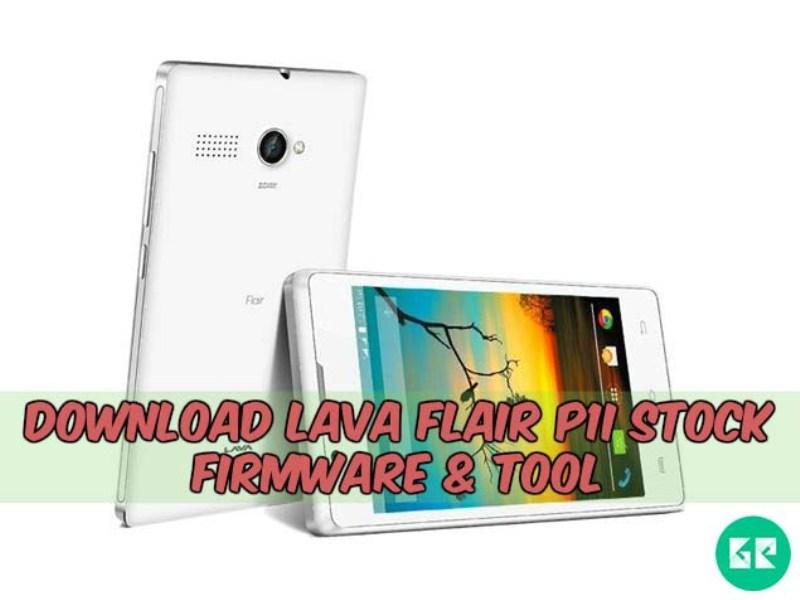 Lava Flair P1i Firmware Tool gizrom - [FIRMWARE] Lava Flair P1i Stock Firmware & Tool