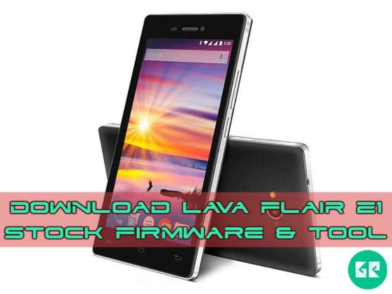 Lava Flair Z1 Firmware Tool gizrom - [FIRMWARE] Lava Flair Z1 Stock Firmware & Tool