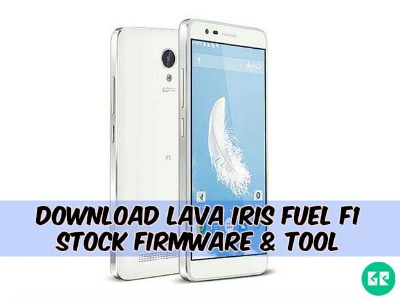 Lava Iris Fuel F1 Firmware Tool gizrom - [FIRMWARE] Lava Iris Fuel F1 Stock Firmware & Tool