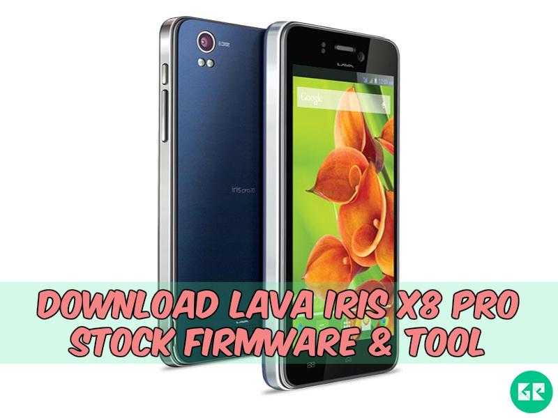 Lava Iris X8 Pro-Firmware-tool-gizrom