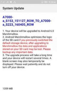 Lenovo A7000 Marshmallow v6 gizrom 2 189x300 - Lenovo A7000 Android 6.0 Marshmallow VIBE UI v6 Ota Update