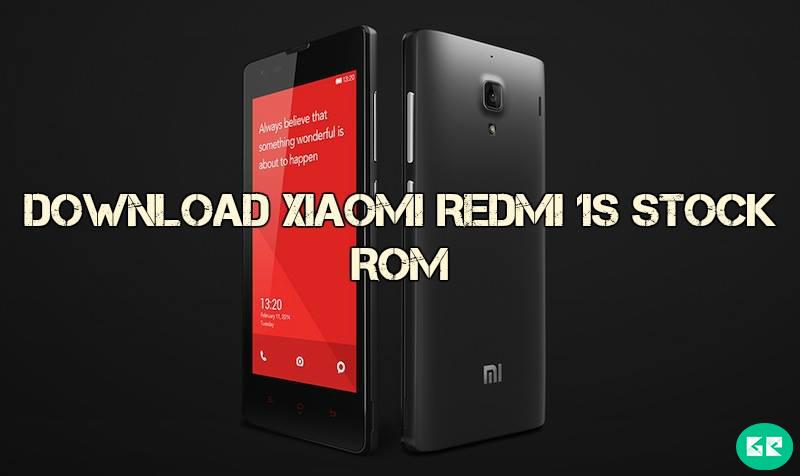 Xiaomi Redmi 1s Stock Rom gizrom - [ROM] Download Xiaomi Redmi 1s Stock Rom