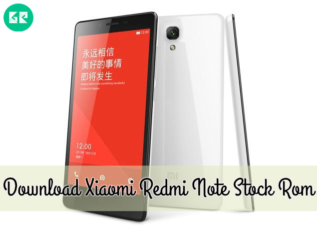 Download Mi 5 Mi 5s Mi Note 2 And Redmi Note 4 Stock: [ROM] Download Xiaomi Redmi Note Stock Rom