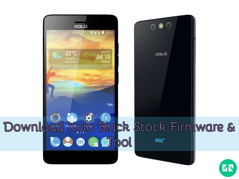 Xolo Black Stock Firmware