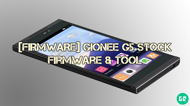 gionee g 5 - [FIRMWARE] Gionee G5 Stock Firmware & Tool