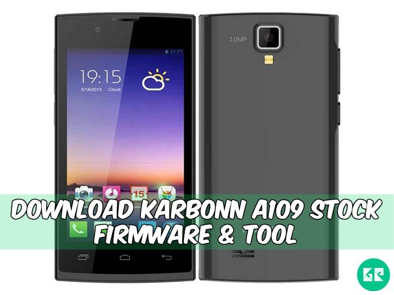 Karbonn A109-Firmware-Tool-gizrom