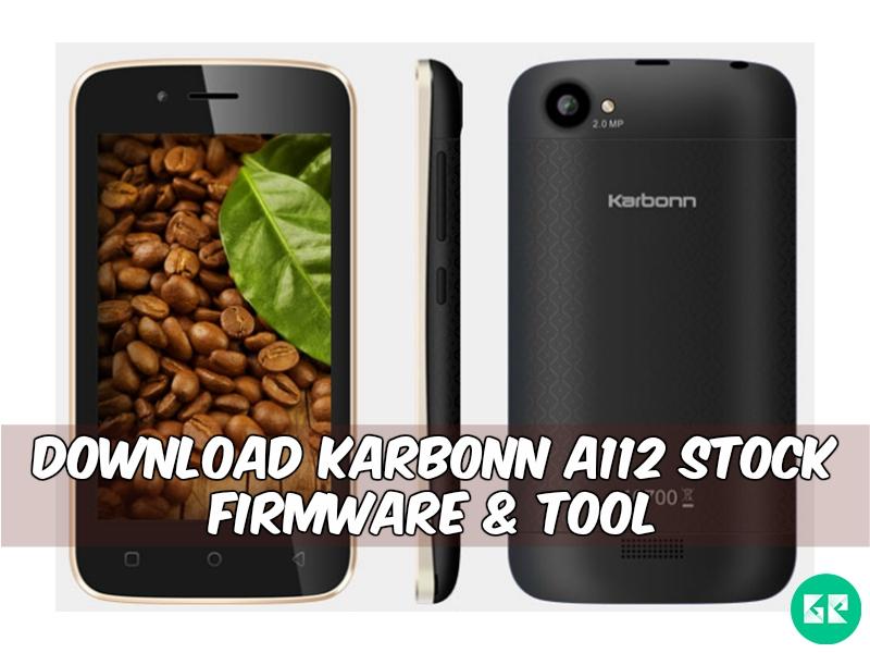 Karbonn A112 Firmware Tool gizrom - [FIRMWARE] Karbonn Alfa A112 Stock Firmware & Tool