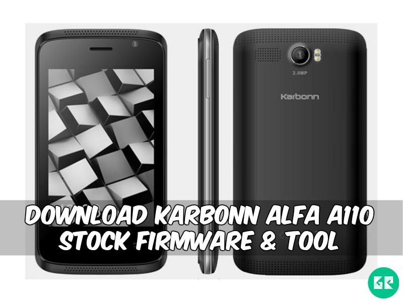 Karbonn Alfa A110-Firmware-Tool-gizrom