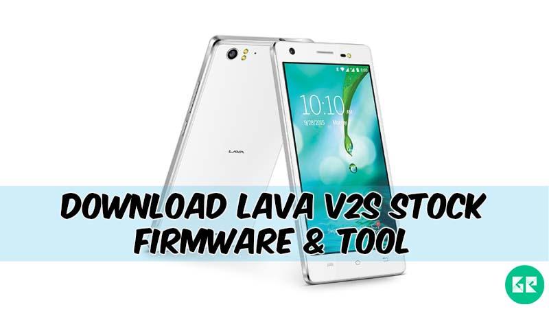Lava V2s-Firmware-Tool-gizrom
