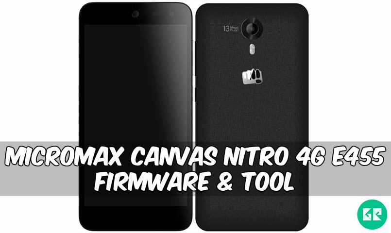 Micromax-Canvas-Nitro-4G-E455-Firmware-Tool