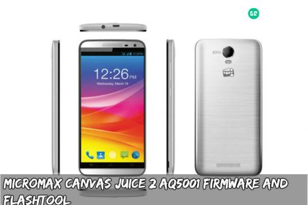 FIRMWARE] Micromax Canvas Juice 2 AQ5001 Firmware and FlashTool