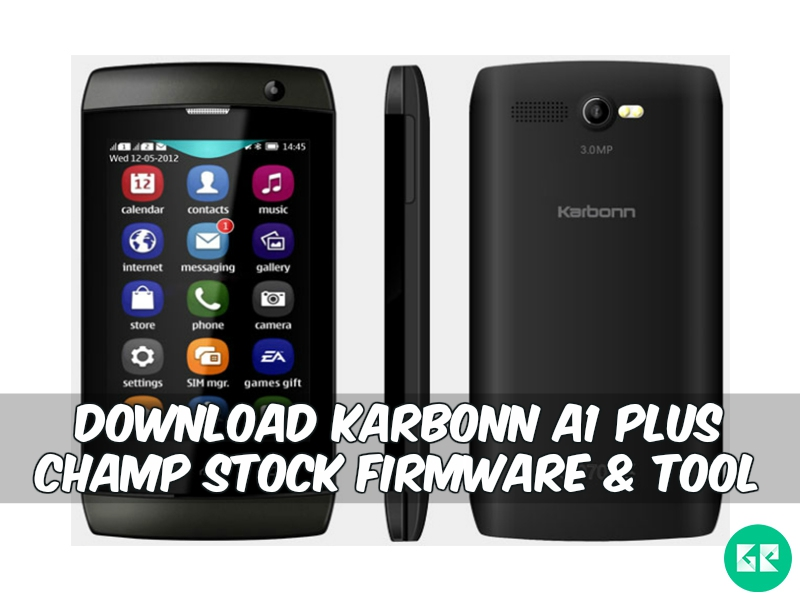 campp - [FIRMWARE] Karbonn A1 Plus Champ Stock Firmware & Tool