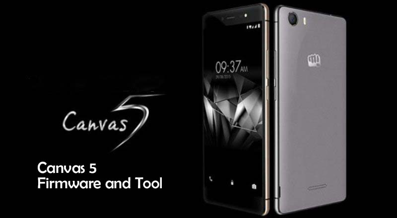 canvas 5 e481 firmware flash tool - [FIRMWARE] Micromax Canvas 5 E481 Firmware and Tool
