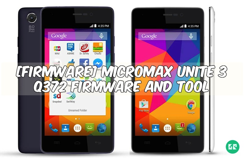micromax unite 3 q372 - [FIRMWARE] Micromax Unite 3 Q372 Firmware and Tool