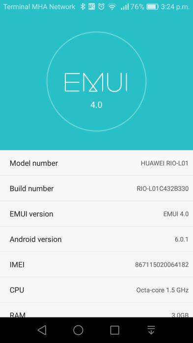G8 B330 - Install B330 Marshmallow Firmware In Huawei G8 (GX8) (Europe)