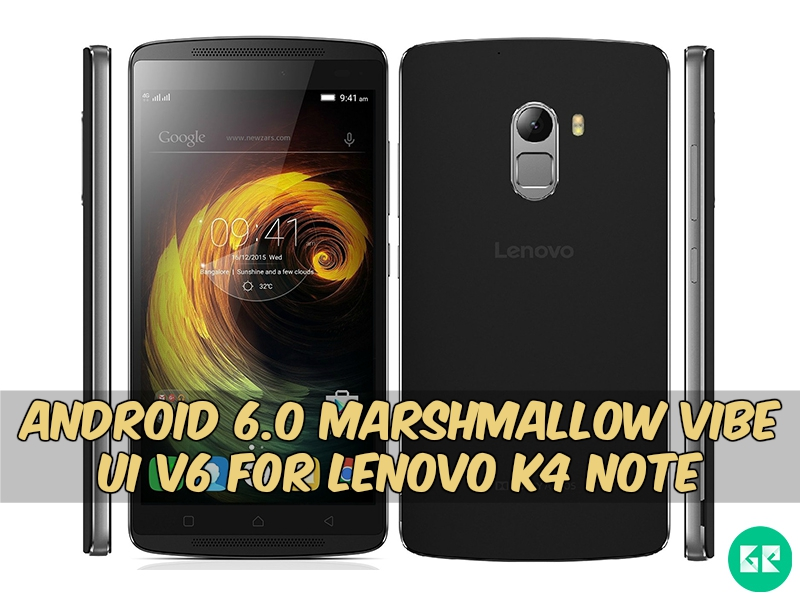 lenovo K4 Note Marshmallow gizrom - Android 6.0 Marshmallow VIBE UI v6 For Lenovo K4 Note