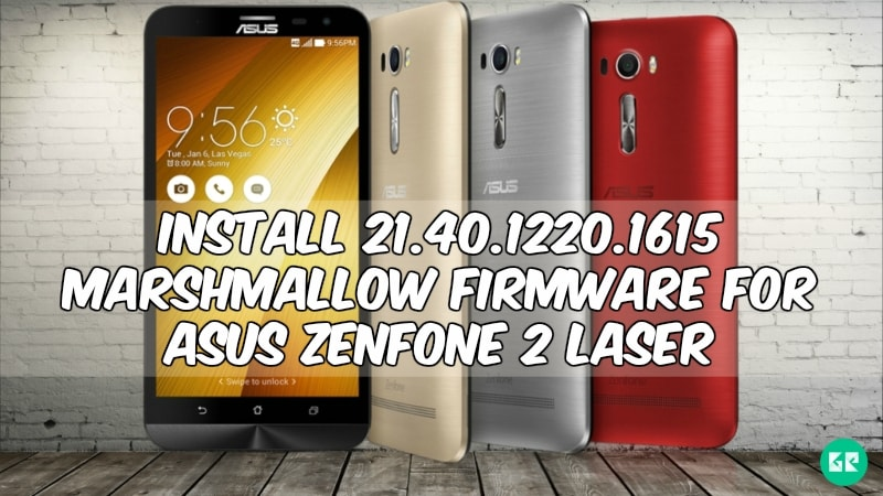 zenfone 2 laser marshmallow gizrom 1 min - Install 21.40.1220.1615 Marshmallow Firmware For Asus Zenfone 2 Laser