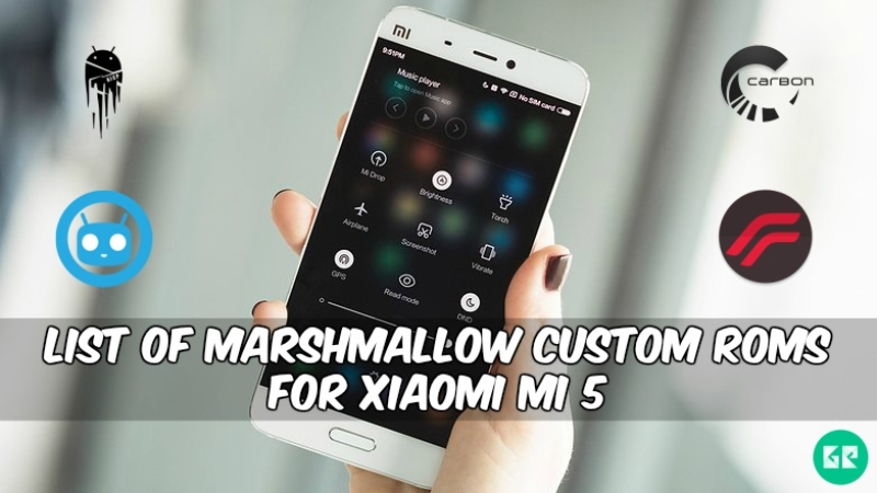 Custom Roms For Xiaomi Mi 5