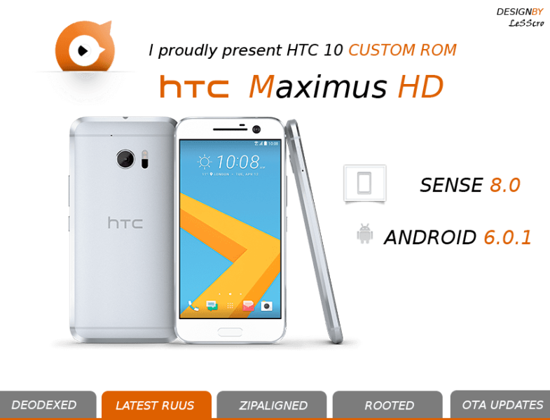 MaximusHD custom rom HTC 10 (2)