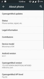 CM 13 For Micromax A104 1 169x300 - Guide To Install Android 6.0 CM 13 For Micromax A104