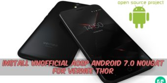 aosp-android-7-0-nougat-for-vernee-thor