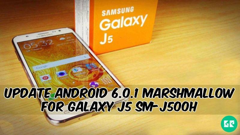 Marshmallow For Galaxy J5 SM-J500H