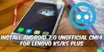 unofficial-cm14-for-lenovo-k5k5-plus