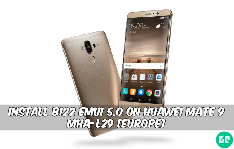 122 Emui 5.0 On Huawei Mate 9 MHA-L29