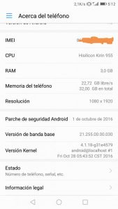 B322 Emui 5.0 Huawei P9 Android 7.0 Nougat OTA 2 169x300 - Install Android 7.0 Emui 5.0 on Huawei P9 EVA-L19 [Rusia]