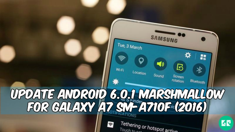 Marshmallow For Galaxy A7 SM A710F 2016 - Update Android 6.0.1 Marshmallow For Galaxy A7 SM-A710F (2016)