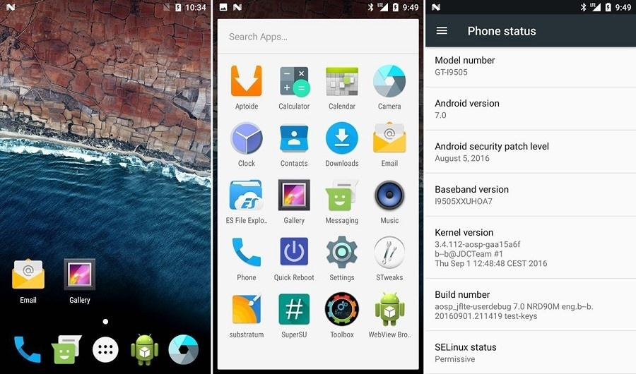 Nougat Custom ROM For Galaxy S41 - Download Android 7.1 Nougat Custom ROM For Galaxy S4
