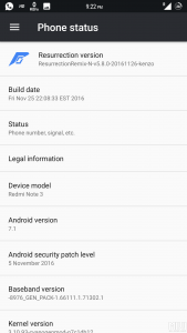 ResurrectionRemix Redmi Note 3 3 169x300 - ResurrectionRemix 5.8.0 Android 7.1 ROM For Redmi Note 3 [VoLTE]