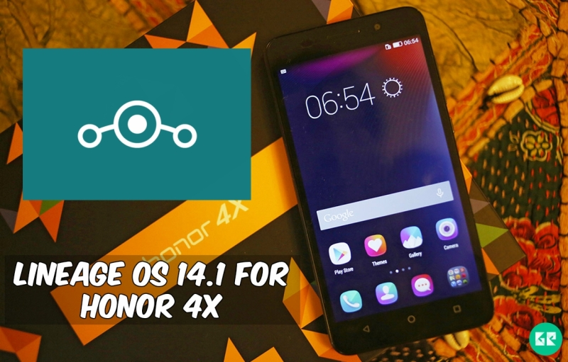 Lineage OS 14.1 For Honor 4X - Android 7.1 Nougat Lineage OS 14.1 For Honor 4X