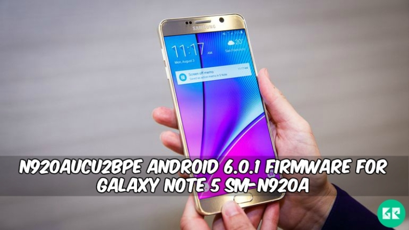 N920AUCU2BPE Android 6.0.1 Firmware For Galaxy Note 5 SM-N920A