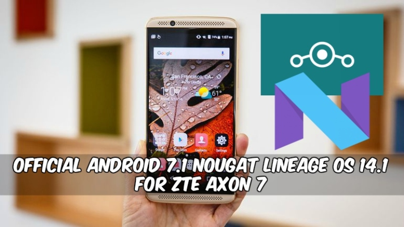 and rear zte axon 7 lineage os sound was